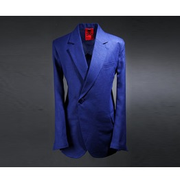 Men's Ivid Linen Double Blazer Jacket