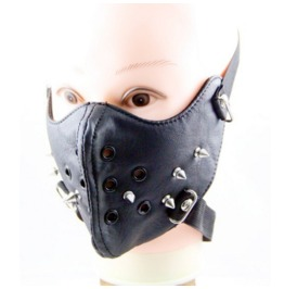 Gothic Punk Rivets Sports Masks Riding Masks