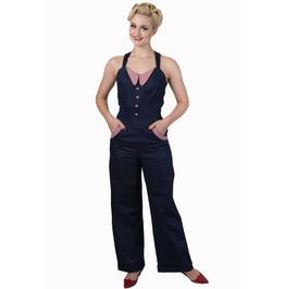 Banned Apparel Blueberry Hills Jumpsuit
