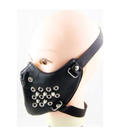 Gothic Punk Rivet Sports Masks Riding Masks Locomotive Masks
