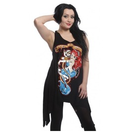 Lost At Sea Little Mermaid Ariel Dress From Poizen Industries Punk Rock