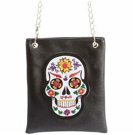 Sugar Skull Purse Skull Goth Purse Shoulder Bag Purse