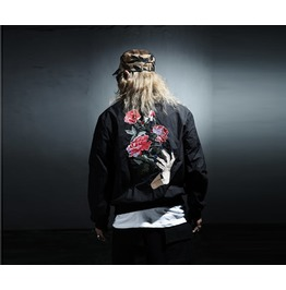 Men's Flower Patch Jacket