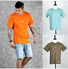 Hawaii Printed Basic Cotton Round T Shirts 530