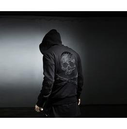 Skull,Skeleton Zip Up Hoodie