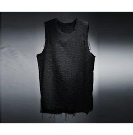 Men's Vintage Gauze Loose Fit Sleeveless Shirts