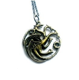 Mother Of Dragons Necklace Daenerys Targaryen's Dragon Got Inspired