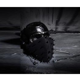 Men's Dark Wear Biker Black Stud Gothic Avant Garde Mask