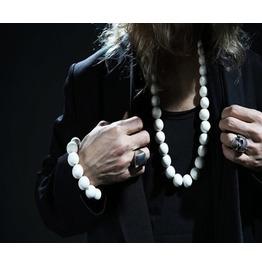 Men's Oriental Bulky Bead Necklace