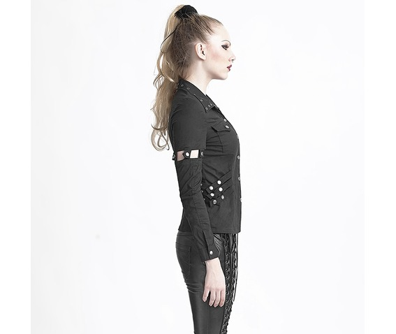 ladies_black_gothic_military_snap_buckle_strap_punk_shirt_removable_sleeves_t_shirts_8.jpg