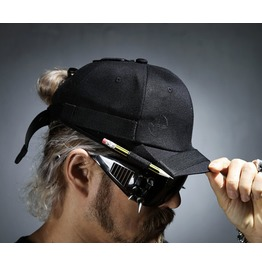 Mens Belted Pencil Cap