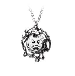 M'era Luna Melies Moon Unisex Pendant By Alchemy Gothic