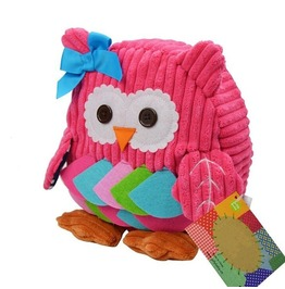 Small 10 Inch Pink Owl Back Pack