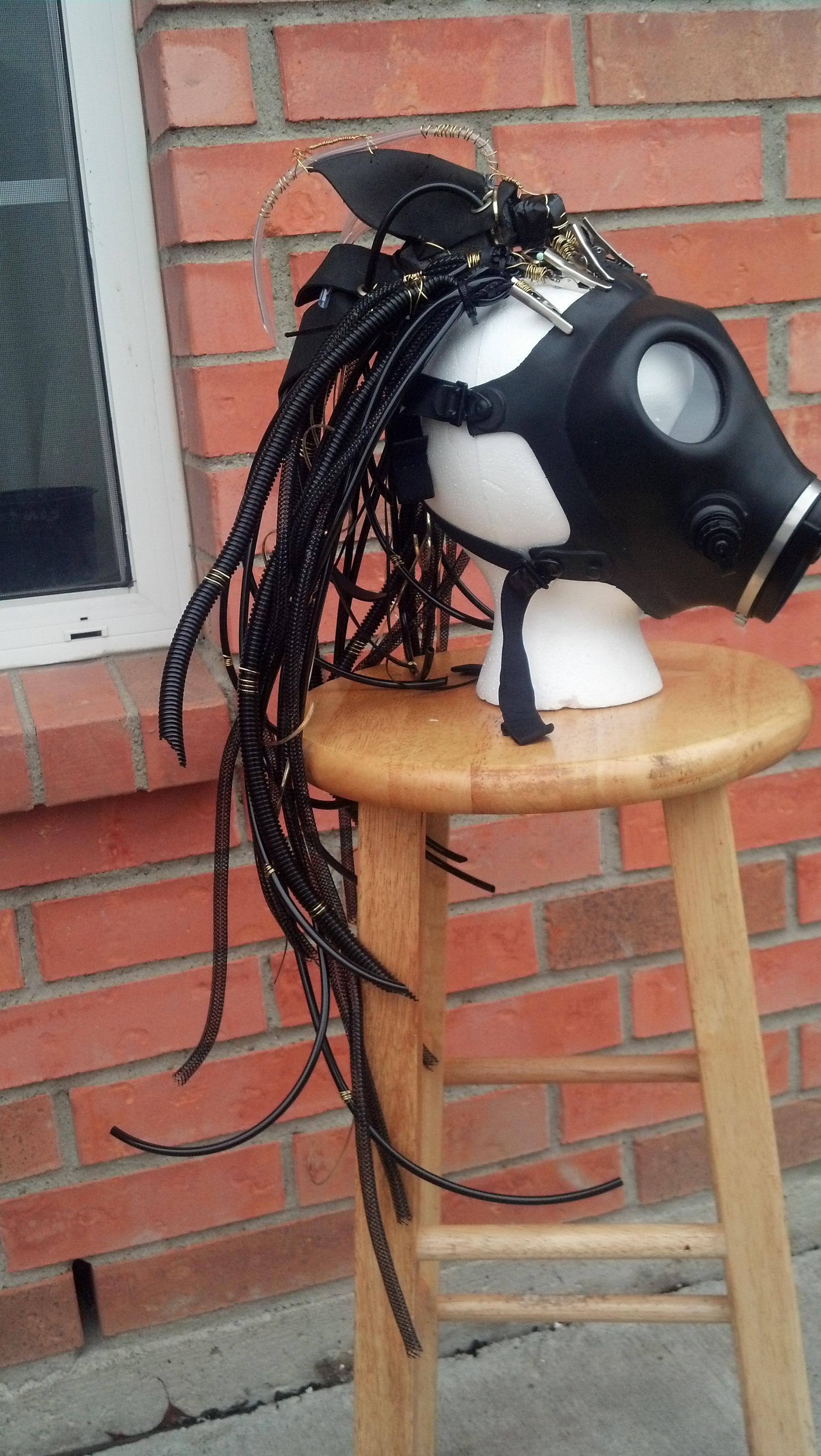 cyberpunk hair falls