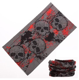 Blood Stain Skull Multi Usage Bandana Bike Scarf