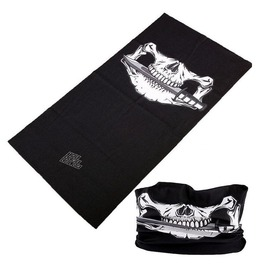 Half Face Skull Multi Usage Bandana Bike Scarf