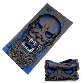 Sharp Fangs Skull Multi Usage Bandana Bike Scarf D1