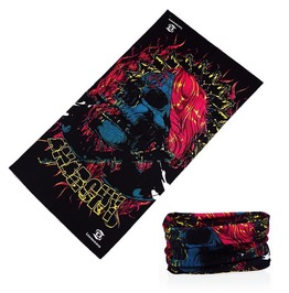 Anarchy Skull Multi Usage Bandana Bike Scarf
