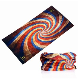 Color Swirl Multi Usage Bandana Bike Scarf