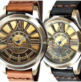 Partial roman engraved round case watch 41 watches