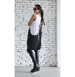 Black Casual Bag/Cross Body Leather Bag/Stylish Black Shoulder Bag