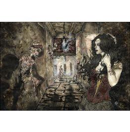 Spiritus Noctis. Art Print. Din A4