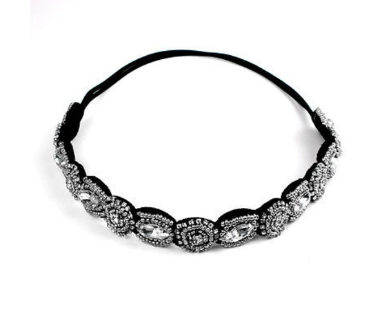 eye_catching_diamante_beads_design_on_elasticated_black_hair_band_hair_accessories_2.jpg