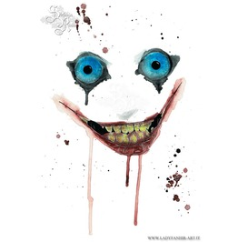 Jeff The Killer. Art Print Din A4