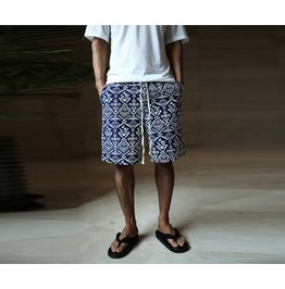 Mens Ethnic Pattern Short Pants