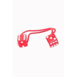 Banned Apparel Red Dice Hair Band
