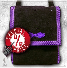 Dark Crystal, Gothic Style Shoulder Bag