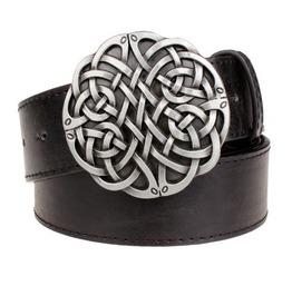 Steampunk Men's Belt With Celtic Knot Buckle Serie 1