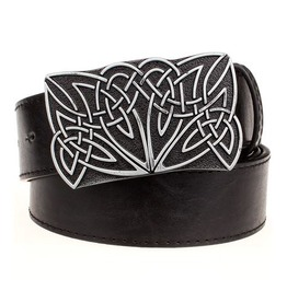 Steampunk Men's Belt With Celtic Knot Buckle Serie 2
