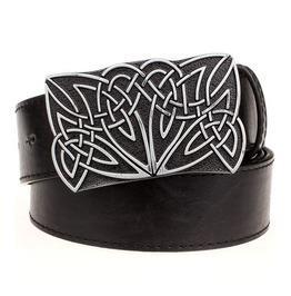 Steampunk Men's Belt With Celtic Knot Buckle Serie 2