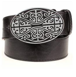 Steampunk Men's Belt With Celtic Knot Buckle Serie 3