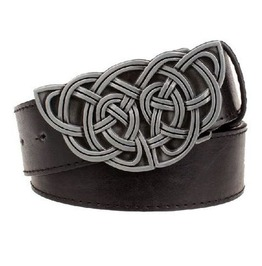 Steampunk Men's Belt With Celtic Knot Buckle Serie 4
