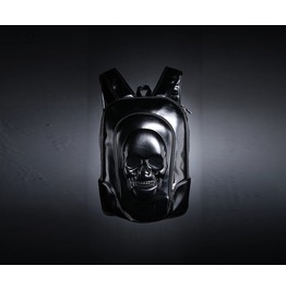 Men's Glossy Skull Casual Fashion Backpack