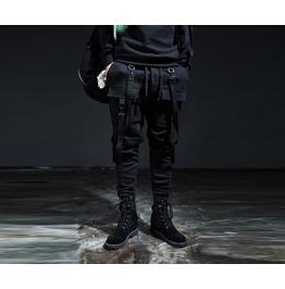 Men's Double Suspender Jogger Pants