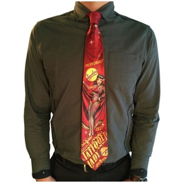 Tattooed Lady Men's Tie