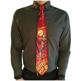 Tattooed Lady Men's Tie