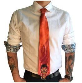 Night Of Tiki Men's Tie