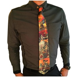 Doug P'gosh Hot Rod Men's Tie