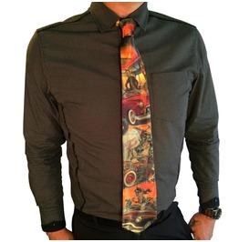 Doug P'gosh Hot Rod Men's Tie
