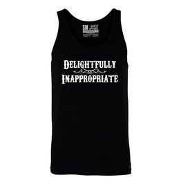 72 off barfly apparel delightfully inappropriate mens black tank tank tops