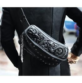 Unique Dragon Zipper Cross Bag