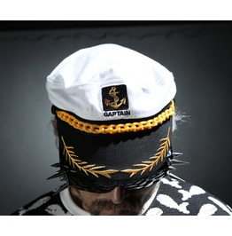 Mens Captain Marine Hat