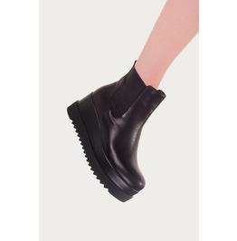 Banned Apparel Charlie Platform Chelsea Boots