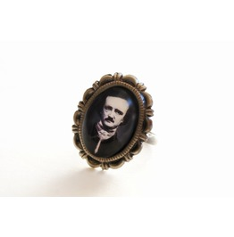 Edgar Allan Poe Cameo Ring