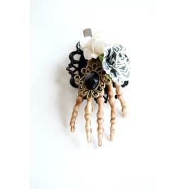 Large Handmade Zombie Hand Hair Clip
