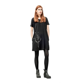 Black Swan, Oversized Black Dress